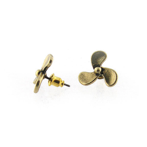 Shop LAVISHY's unique, beautiful & affordable retro style propeller stud earrings. A great gift for you or your girlfriend, wife, co-worker, friend & family. Wholesale available at www.lavishy.com with many unique & fun fashion accessories.