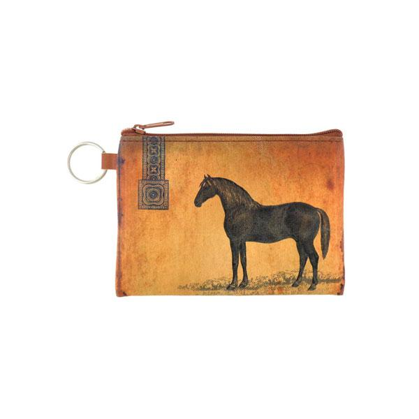 Online Online shopping for LAVISHYping for vegan brand LAVISHY's unisex key ring coin purse with vintage style horse illustration on the old map background print. Great for everyday use, travel & gift for friends & family. Wholesale at www.lavishy.com for gift Online shopping for LAVISHYs, fashion accessories & clothing boutiques, book stores worldwide since 2001.