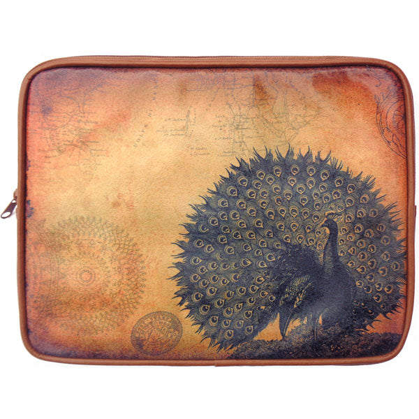 Shop PETA approved vegan brand LAVISHY's unisex printed vegan/faux leather tablet sleeve with vintage style swallow print. Great for everyday use, travel and a great gift for yourself or your loved ones. Wholesale available at www.lavishy.com with many unique & fun fashion accessories.