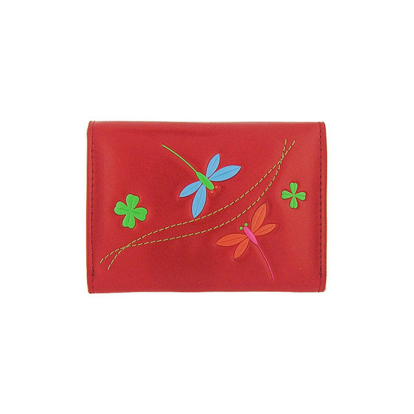 Shop PETA approved vegan brand LAVISHY's beautiful vegan cardholder with charming dragonfly and clover emboss motif. It's Eco-friendly, ethically made, cruelty free. A great gift for you or your friends & family. Wholesale available at www.lavishy.com with many unique & fun fashion accessories.