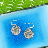 883-106: Drop earrings-bird