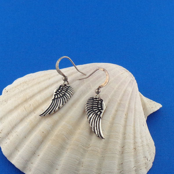 Shop PETA approved vegan brand LAVISHY's unique, beautiful, affordable & meaningful handmade vintage style angel wing earrings. A thoughtful gift for you or your girlfriend, wife, co-worker, friend & family. Wholesale available at www.lavishy.com with many unique & fun fashion jewelry.