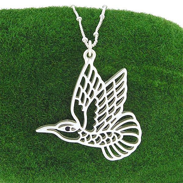 Shop LAVISHY's fun & affordable cutout hummingbird pendant necklace. A great gift for you or your girlfriend, wife, co-worker, friend & family. Wholesale available at www.lavishy.com with many unique & fun fashion accessories.