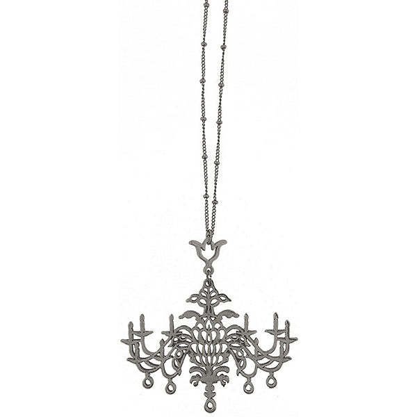 Shop LAVISHY's fun & affordable vintage style reversible vintage look Chandelier pendant long necklace. A great gift for you or your girlfriend, wife, co-worker, friend & family. Wholesale available at www.lavishy.com with many unique & fun fashion accessories.