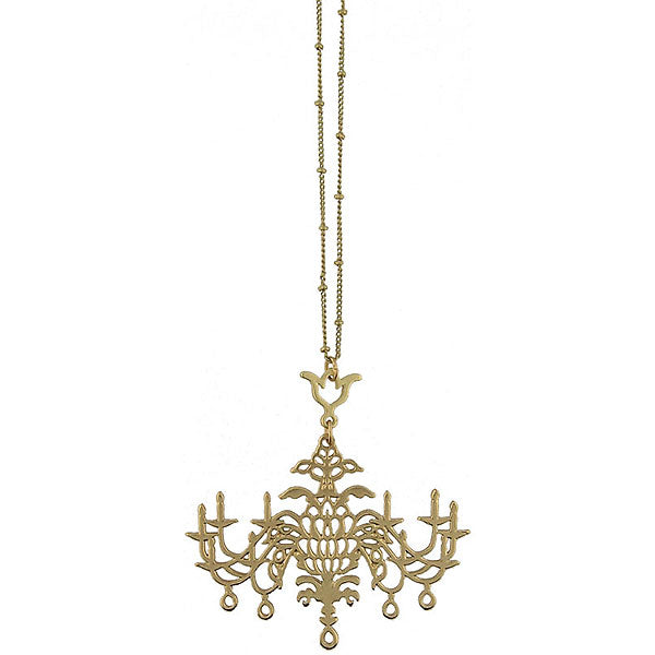 Online shopping for LAVISHY's fun & affordable vintage style reversible vintage look Chandelier pendant long necklace. A great gift for you or your girlfriend, wife, co-worker, friend & family. Wholesale at www.lavishy.com with many unique & fun fashion accessories.