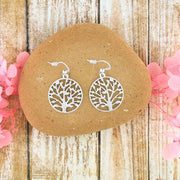 Online shopping for PETA approved vegan brand LAVISHY's unique, beautiful, affordable handmade cutout style tree of life earrings. A thoughtful gift for you or your girlfriend, wife, co-worker, friend & family. Wholesale at www.lavishy.com with many unique & fun fashion jewelry.