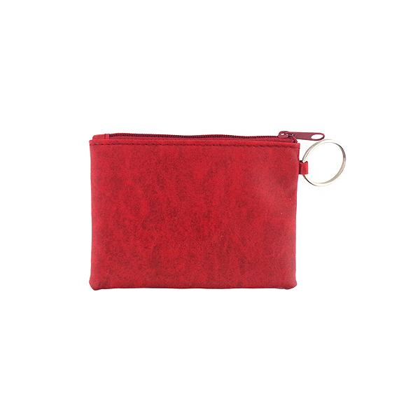 Online shopping for vegan brand LAVISHY's playful applique vegan key ring coin purse with adorable apple applique. Great for everyday use, fun gift for family & friends. Wholesale at www.lavishy.com for gift shop, clothing & fashion accessories boutique, book store in Canada, USA & worldwide since 2001.