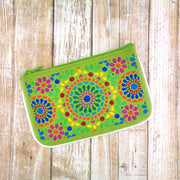 Designed by vegan brand LAVISHY, this Eco-friendly, ethically made, cruelty free small pouch for women features lovely embroidery motif of Moroccan pattern. Wholesale available at www.lavishy.com along with other unique & fun vegan fashion accessories for retailers like gift shop & boutique.