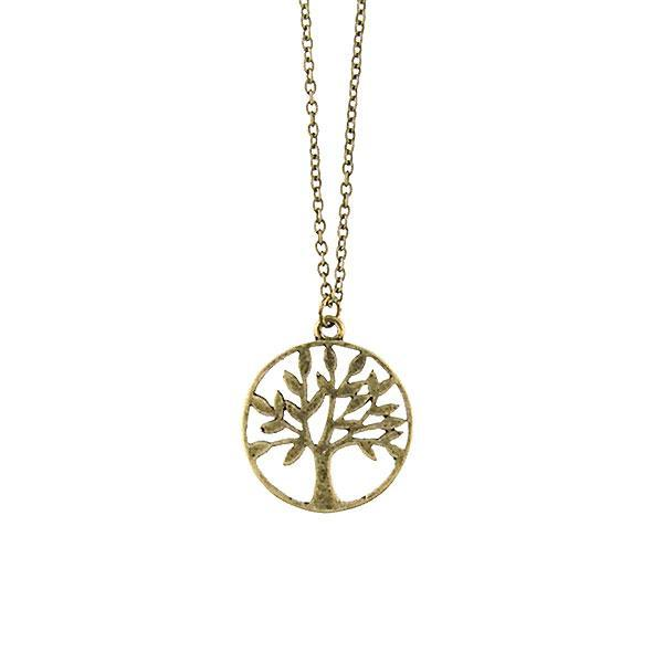 Shop LAVISHY handmade cutout tree of life pendant necklace made with recycled materials. They are unique, fun, Eco-friendly & affordable. Wholesale available at www.lavishy.com for gift shop, boutique & corporate buyer.