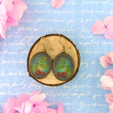 Shop LAVISHY's unique, beautiful & affordable vintage style handmade cherry earrings. A great gift for you or your girlfriend, wife, co-worker, friend & family. Wholesale available at www.lavishy.com with many unique & fun fashion accessories.