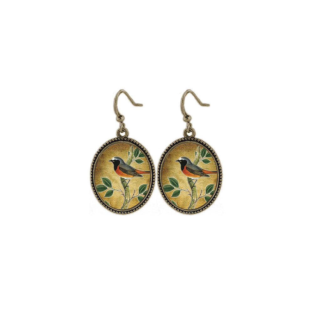 Shop LAVISHY's unique, beautiful & affordable vintage style handmade bird earrings. A great gift for you or your girlfriend, wife, co-worker, friend & family. Wholesale available at www.lavishy.com with many unique & fun fashion accessories.