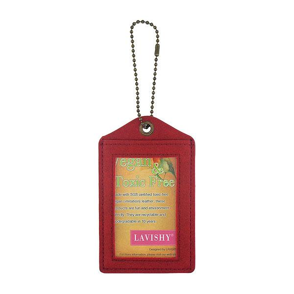 Shop LAVISHY retro pinup girl printed vegan leather luggage tag. Wholesale available at www.lavishy.com
