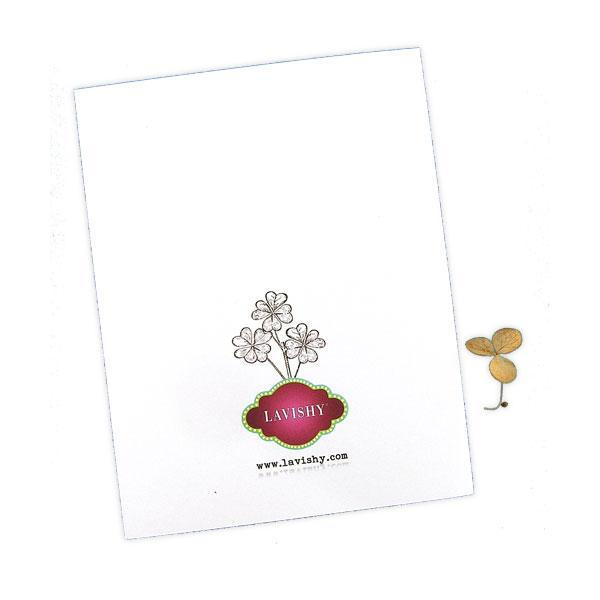 Shop LAVISHY Eco-friendly lotus flower sympathy greeting card from Sarah collection by PETA approved vegan brand LAVISHY. A great gift for you or your co-workers, friends and family. Wholesale available at www.lavishy.com to social stationary stores, gift shops and boutiques worldwide.