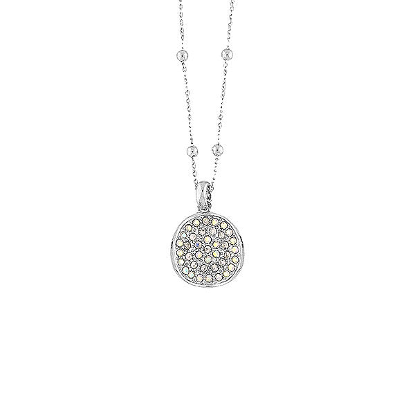CO-092: Necklace with Austrian crystal accent