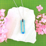 Online shopping for LAVISHY handmade reversible pendant necklace with rhinestone accent & colorful enamel. A great gift for you or your girlfriend, wife, co-worker, friend & family. Wholesale at www.lavishy.com with many unique & fun fashion accessories.