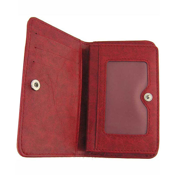 Shop vegan brand LAVISHY's bird applique vegan/faux leather cardholder. Wholesale available at http://www.lavishy.com/wholesale/lavishy-wholesale-applique-vegan-bags-wallet-and-accessories.htm