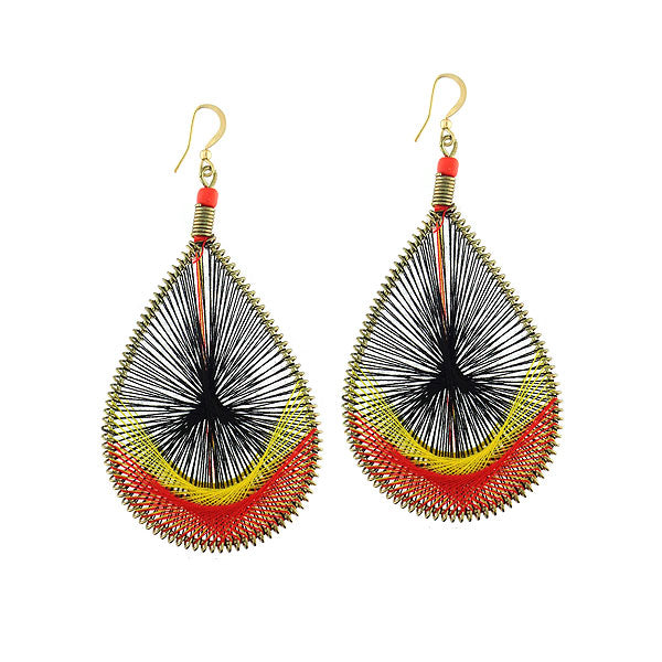 Online shopping for handmade thread woven earrings. A great gift for cat lovers/owners. Handmade in Toronto Canada by LAVISHY.