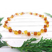 GN001: Handmade crystal/glass chocker/bracelet