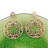 Shop filigree drop earrings with rhinestone accent. A beautiful gift for you or your friends and family. They come with FREE LAVISHY gift box to make gift giving easy and fun!