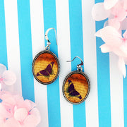 E010: Butterfly earrings