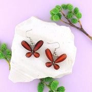 Shop handmade resin butterfly earrings. A great gift for you or your girlfriend, wife, co-worker, friend & family. Wholesale available at www.lavishy.com with many unique & fun fashion accessories.