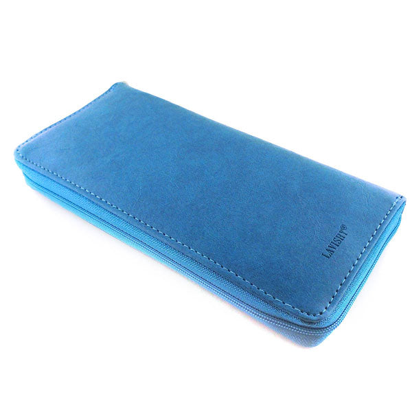 7-0206: Free bird embossed vegan large wallet