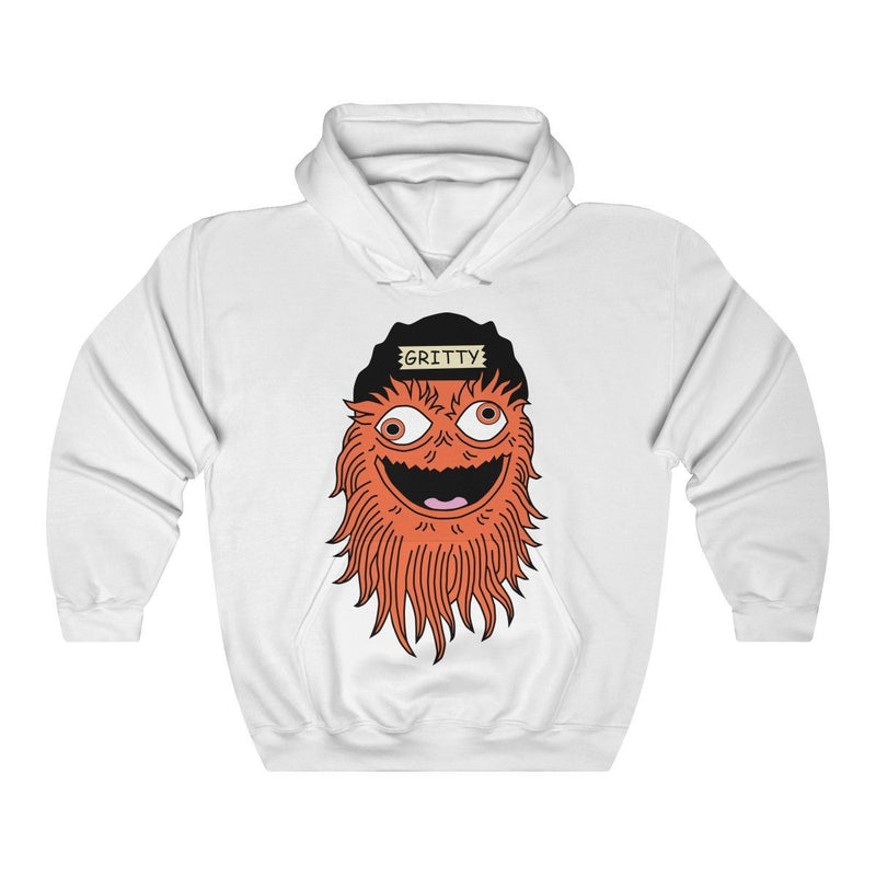 Getting GRITTY With It Hoodie Hoodie Printify White S