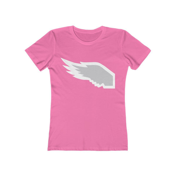 Breast Cancer Awareness (women) T-Shirt Printify Solid Hot Pink L