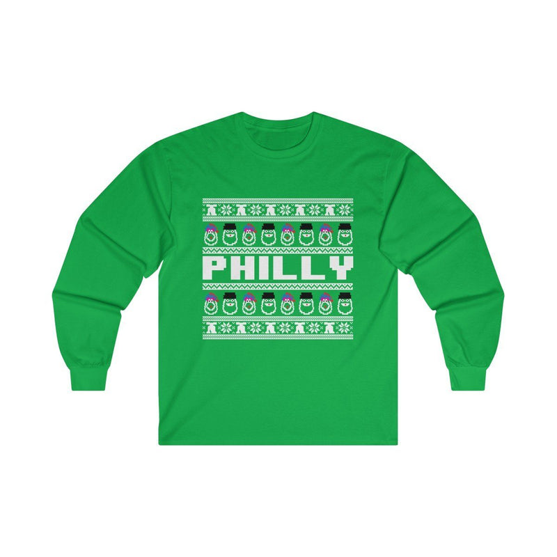 Ugly Sweater Long Sleeve Long-sleeve Printify Irish Green L