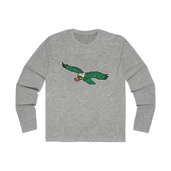 Eagles Words (Long Sleeve) Long-sleeve Printify Solid Heather Grey L