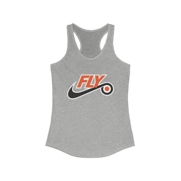 Just Fly Racerback Tank Tank Top Printify Heather Grey L
