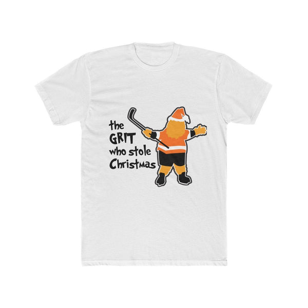 Grit That Stole Christmas T-Shirt Printify Solid White L