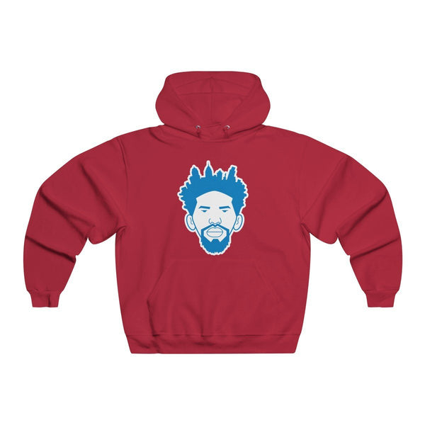 Process Skyline Hoodie Hoodie Printify True Red L