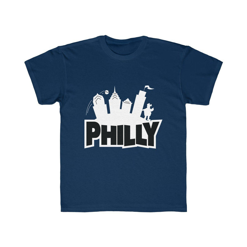 Fortnite Philly (Youth) Kids clothes Printify Navy XS
