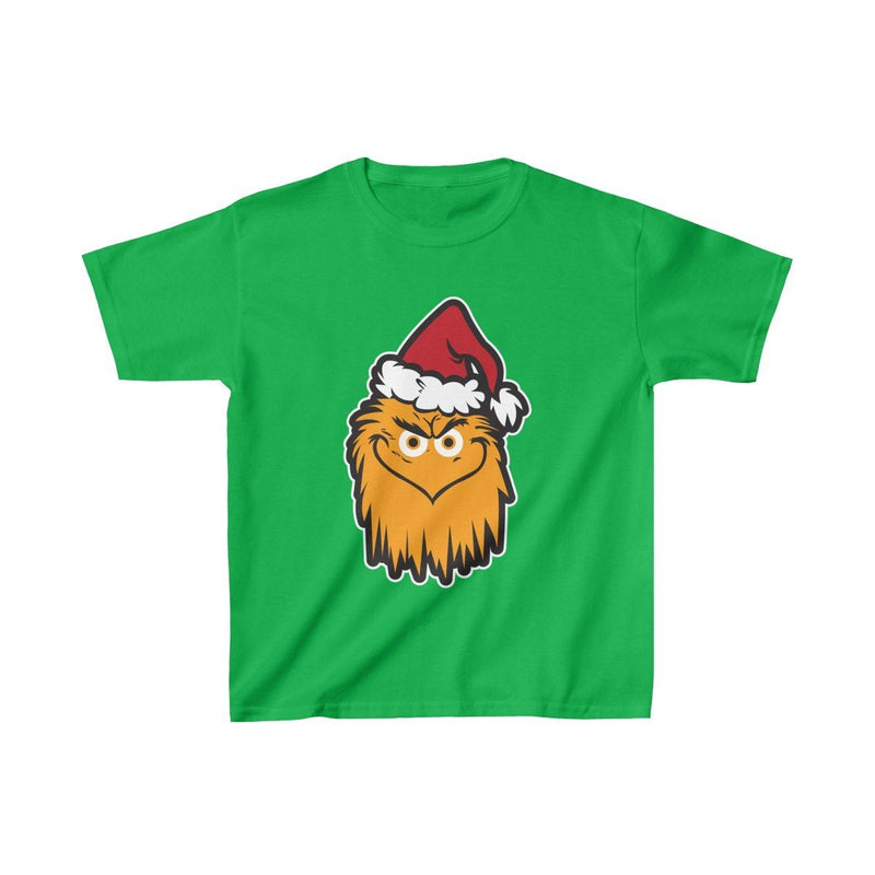 The Grit That Stole Christmas (Y) Kids clothes Printify Irish Green XS
