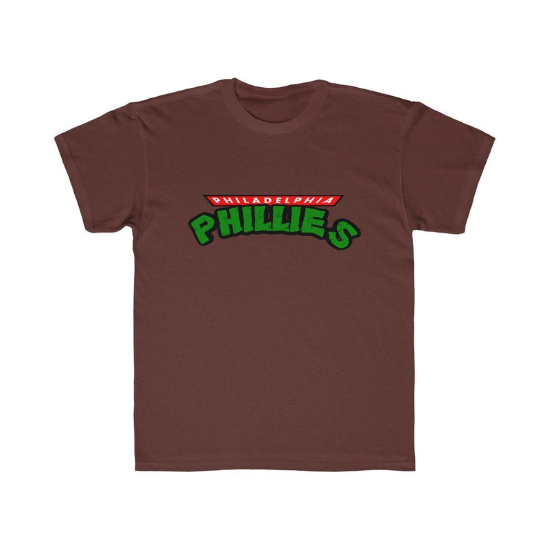 Turtles Phillies (Youth) Kids clothes Printify Maroon XS