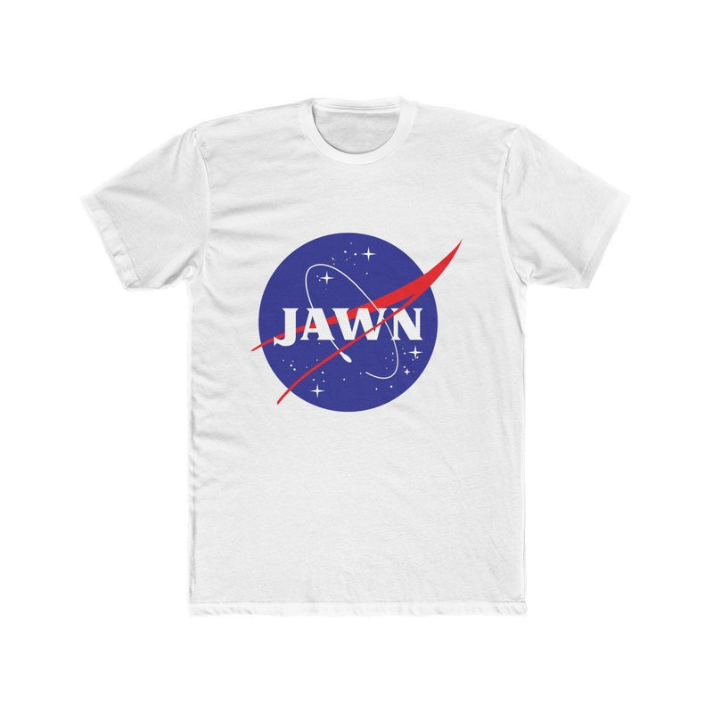 NASA Jawn T-Shirt Phan Tees Solid White XS