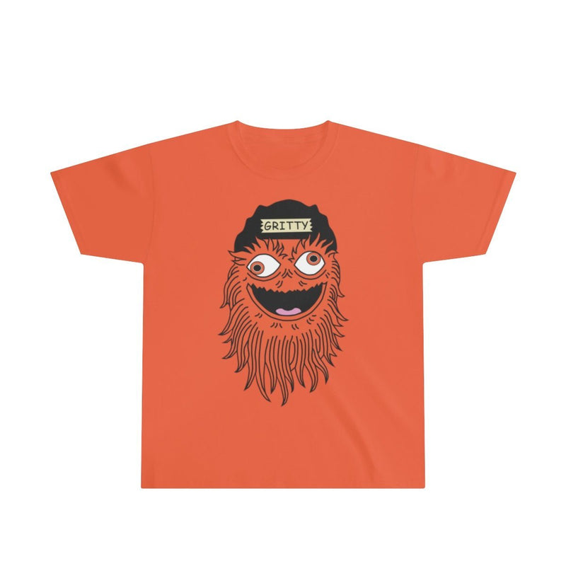 Getting GRITTY With It (Youth) Kids clothes Printify XS Orange