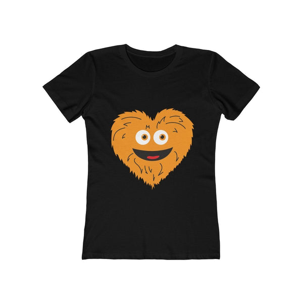Grit Heart (W) T-Shirt Phan Tees Solid Black L