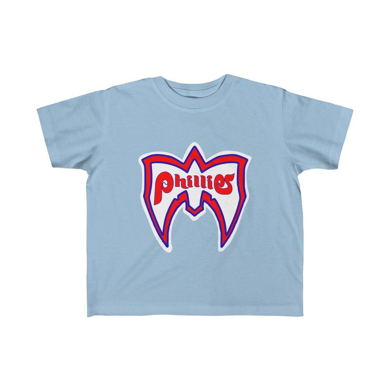 Ultimate Phillies Fan (Toddler) Kids clothes Phan Tees 5T-6T Light Blue