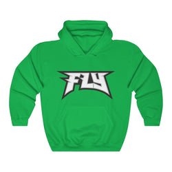 FLY Hoodie Hoodie Printify Irish Green L