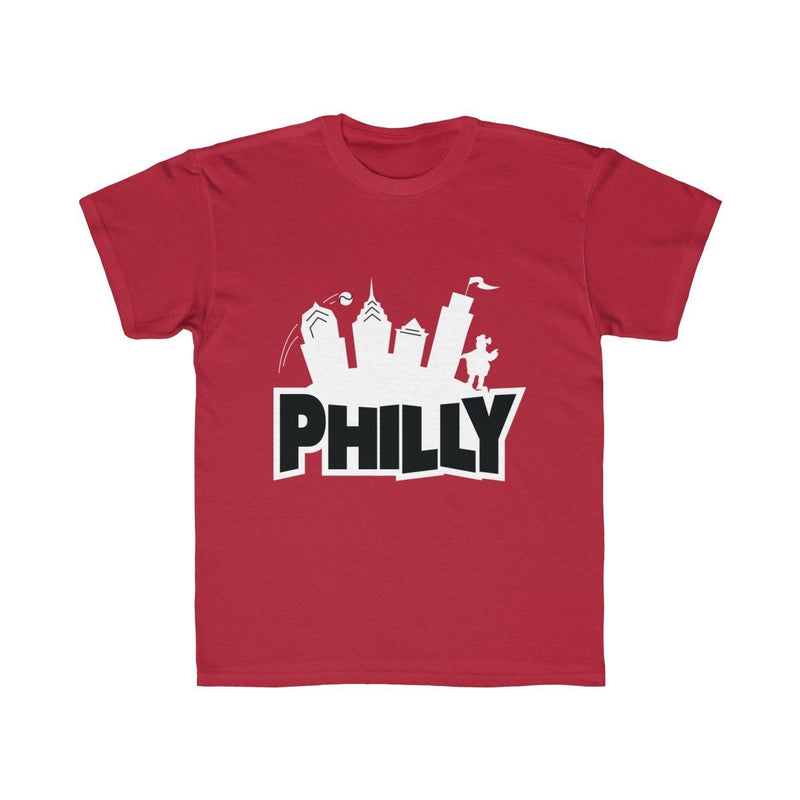 Fortnite Philly (Youth) Kids clothes Printify Red XS