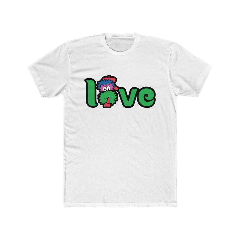 Love T-Shirt Printify Solid White XS