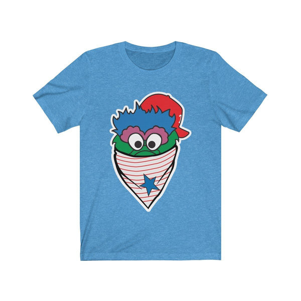 Phanatic Bandanna (Heather) T-Shirt Phan Tees Heather Columbia Blue XS