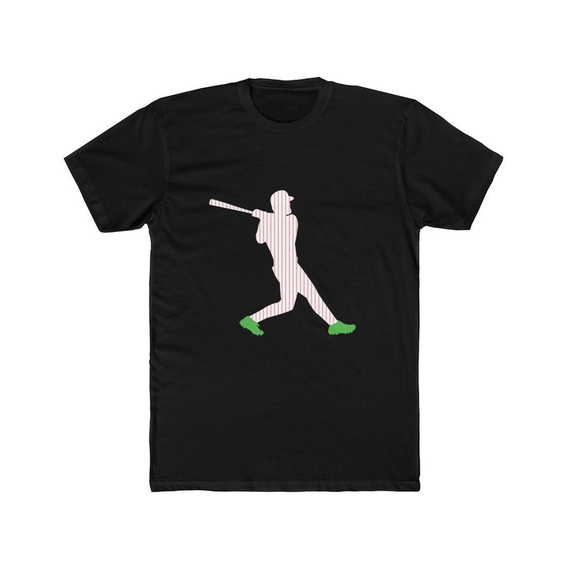 Harper Green Cleats T-Shirt Phan Tees Solid Black L