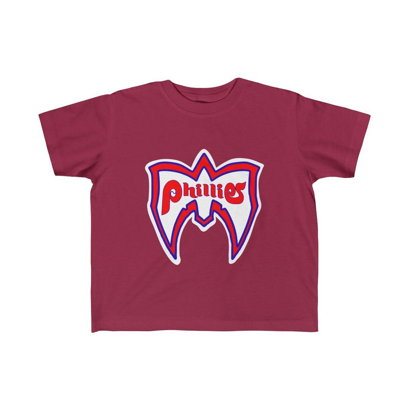 Ultimate Phillies Fan (Toddler) Kids clothes Phan Tees 5T-6T Garnet