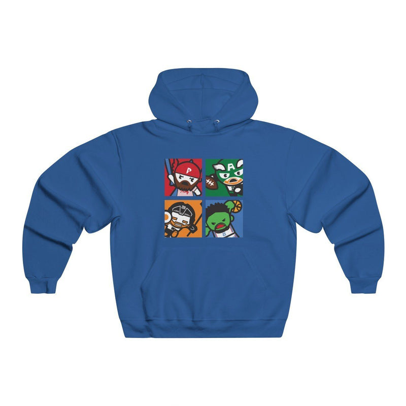 Philly Avengers Hoodie Hoodie Printify Royal S