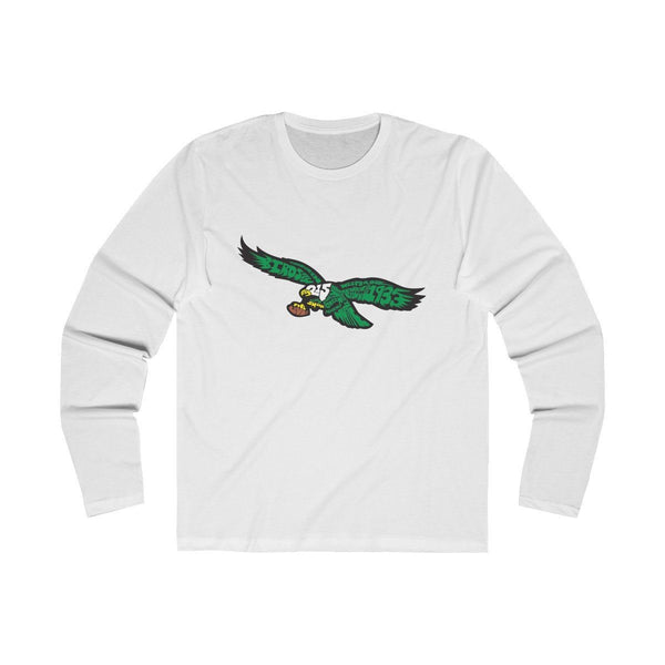 Eagles Words (Long Sleeve) Long-sleeve Printify Solid White S
