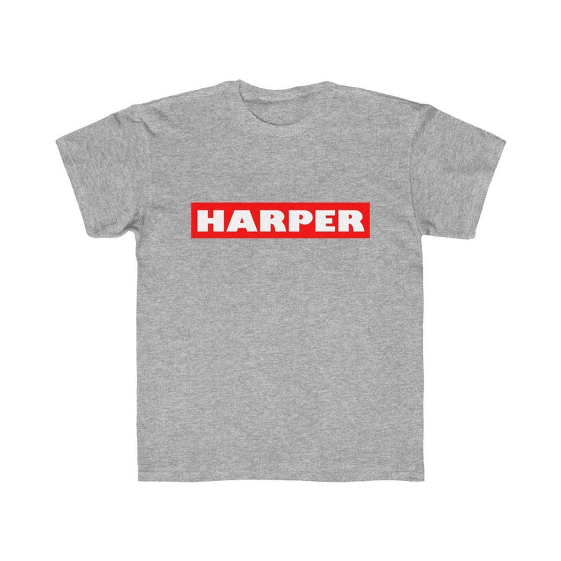 Harper (Youth) Kids clothes Printify Athletic Heather XS