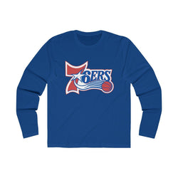 Retro 6ers (Long Sleeve) Long-sleeve Printify Solid Royal L